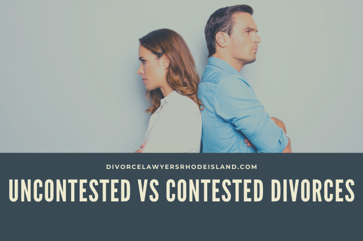 uncontested divorces